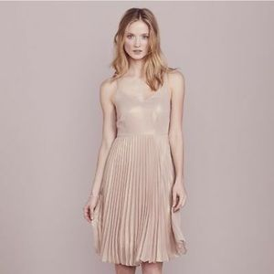 LC Lauren Conrad pleated dress